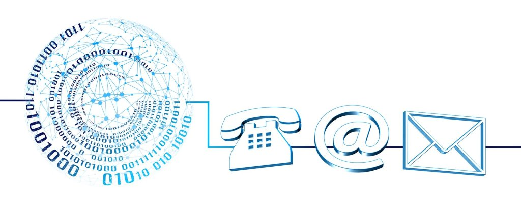 Telephone, E-mail, Letter